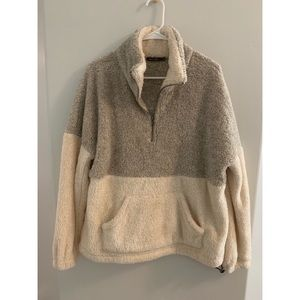 Never Worn Sherpa pullover